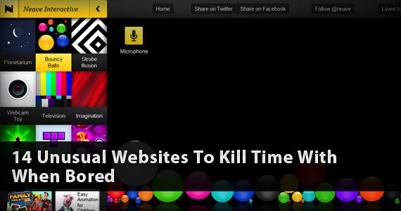 14 Unusual Websites To Kill Time With When Bored
