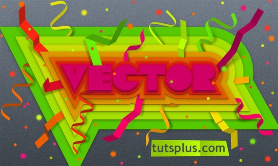 Create Colorful, Layered Paper Type