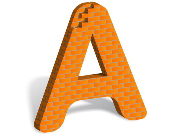 How to Build Letter Art From Bricks In Illustrator