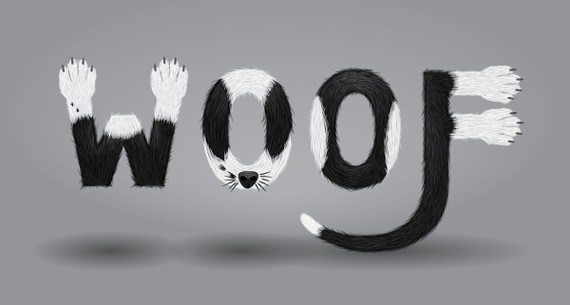 Create a Furry Calligram