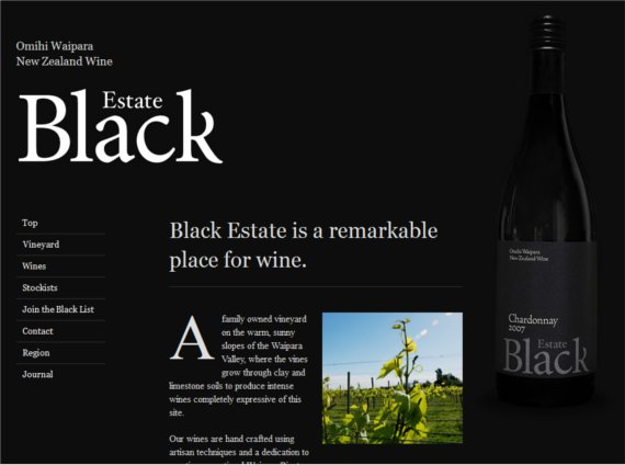 Estate-Black-15-Eye-Catching-Food-Beverage-Ecommerce-Website-Designs
