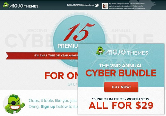 Mojo Themes Cyber Bundle 2011