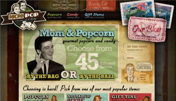 Mom-Pop-Corn-15-Eye-Catching-Food-Beverage-Ecommerce-Website-Designs