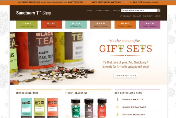 Sanctuary-T-Shop-15-Eye-Catching-Food-Beverage-Ecommerce-Website-Designs