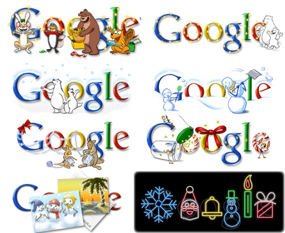 Google Doodle History and a Nostalgic Showcase