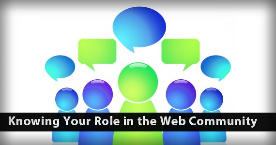 Knowing Your Role in the Web Community