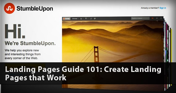 Landing Pages Guide 101: Create Landing Pages that Work