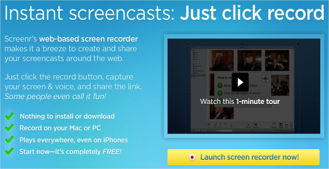 free screencast software