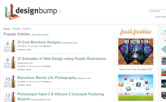 Designbump-websites-promote-articles-social