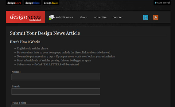 Designnewz-websites-promote-articles-social