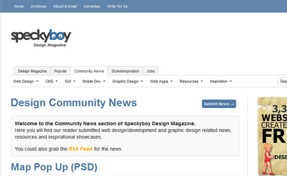 Speckyboy-websites-promote-articles-social
