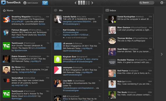 Tweetdeck social media promotion tool