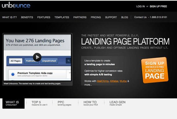 Unbounce landing pages guide
