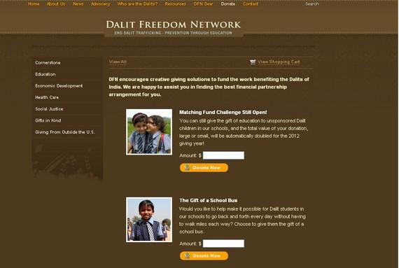 Dalit Freedom Network