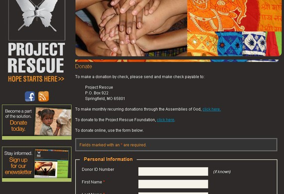 Project Rescue Foundation,