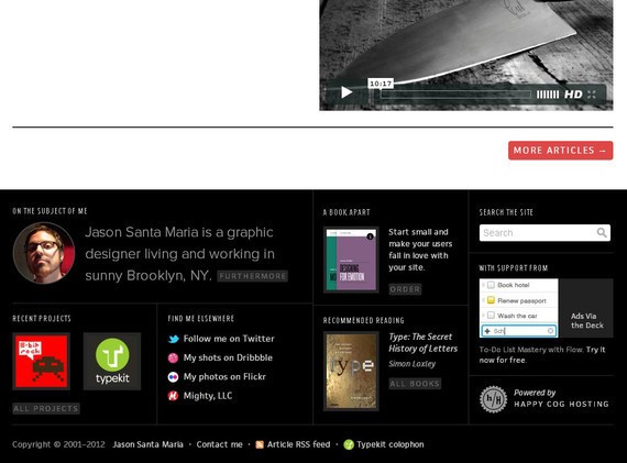 footer design inspiration Jason Santa Maria