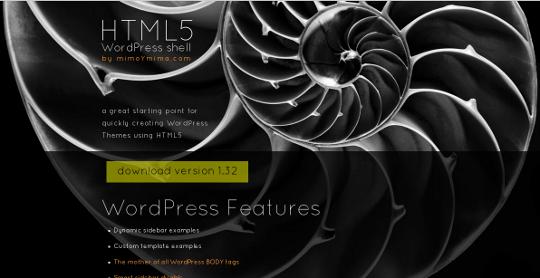 HTML5 WP Shell
