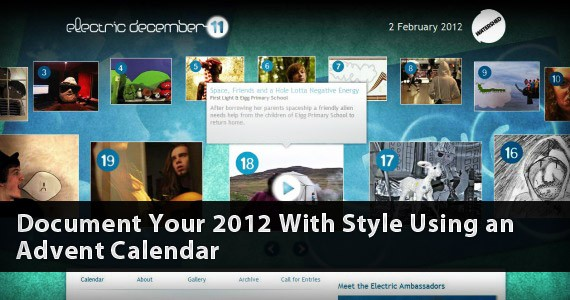 Document Your 2012 With Style Using an Advent Calendar