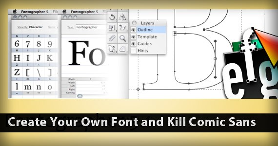 Create Your Own Font and Kill Comic Sans