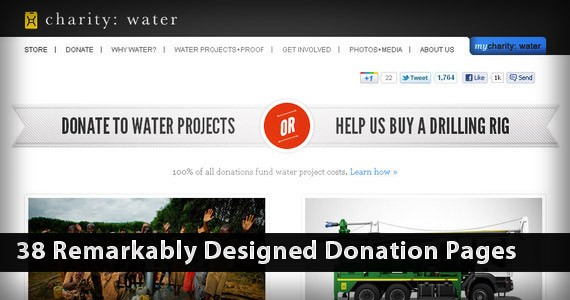 38 Remarkably Designed Donation Pages Which Will Soften Your Heart