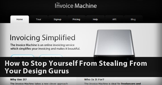 How to Stop Yourself from Stealing from Your Design Gurus