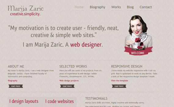 Marijazaric-responsive-web-design-showcase