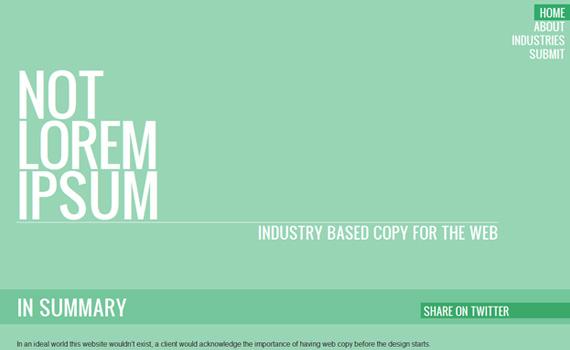 Notloremipsum-responsive-web-design-showcase