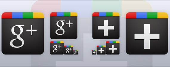 Google Plus Icon Vector