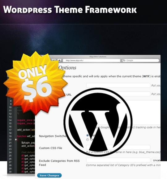 WordPress Theme Framework