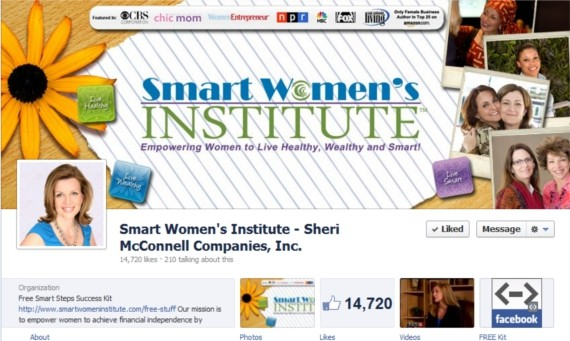 Smart-Women's-Institute-Facebook-Page-Timeline