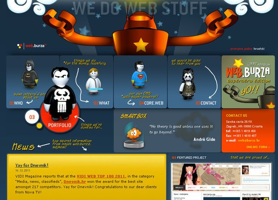 Web Burza