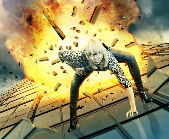 Create a Dramatic Building Explosion Scene