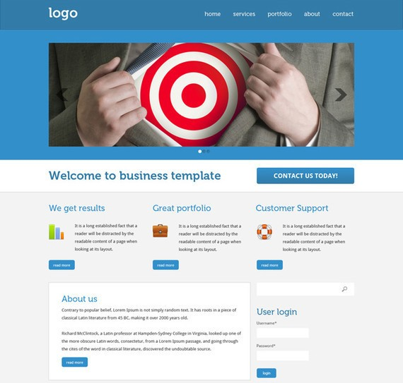 Design a Drupal Business Theme in Photoshop