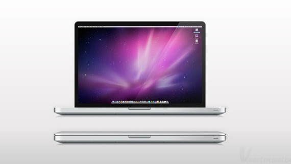 Create a Semi-Realistic MacBook Pro from Scratch
