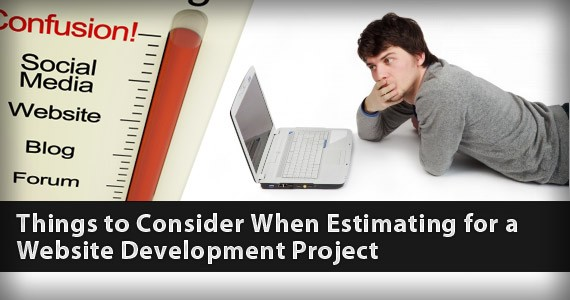 Things to Consider When Estimating for a Website Development Project