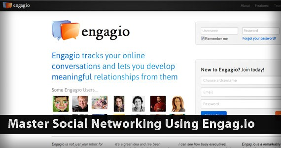 Master Social Networking Using Engag.io