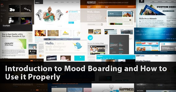 Introduction to Mood Boarding and How to Use it Properly