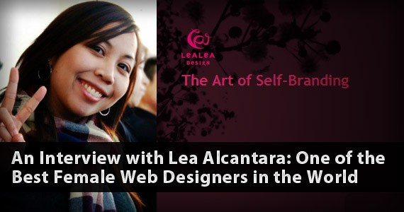 An Interview with Lea Alcantara: One of the Best Female Web Designers in the World