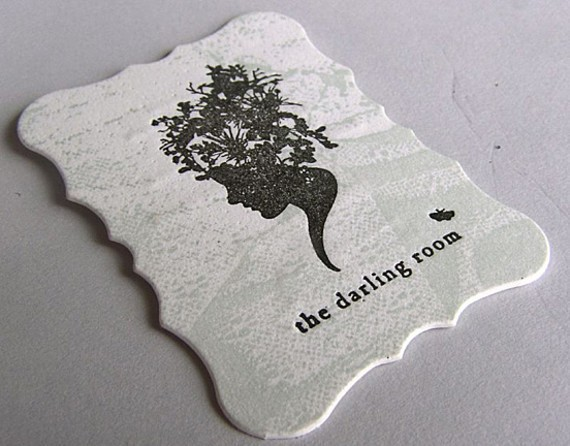 creative minimal business card design inspiration The darlling room