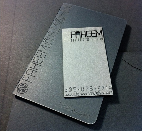 creative minimal business card design inspiration