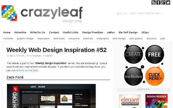 Crazy Leaf Design Blog