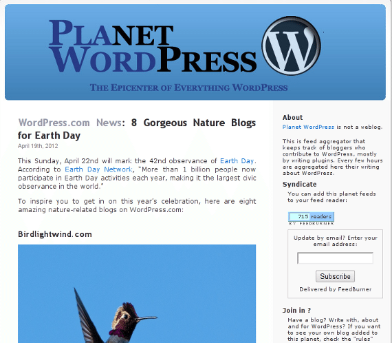Planet WordPress