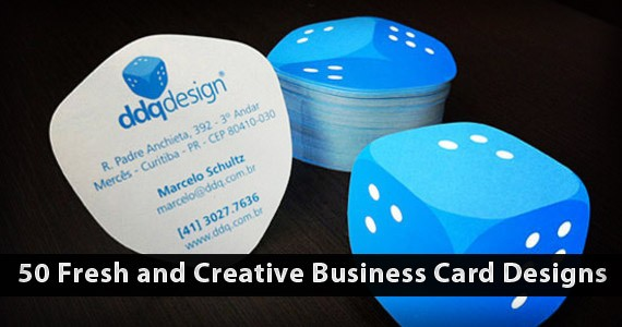 50 Fresh and Creative Business Card Designs: 2012 Edition