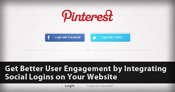 Get Better User Engagement by Integrating Social Logins on Your Website