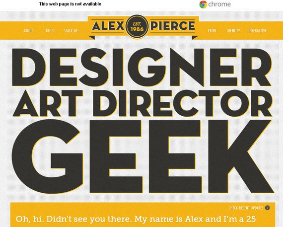 The Portfolio of alex pierce