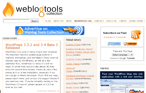 WeblogToolsCollection