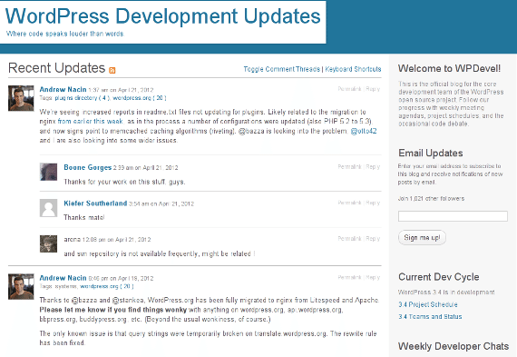 WordPress Development Updates