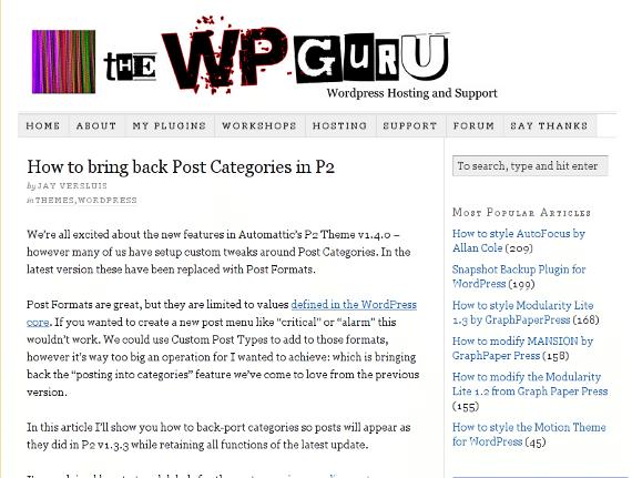 The WP Guru