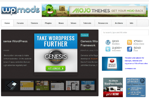 WordPress Mods