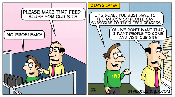 1stWebDesigners Life #7   The New Social Network & Feed Stuff